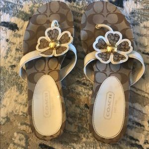 Coach Sherrie Sandals. Size 9.
